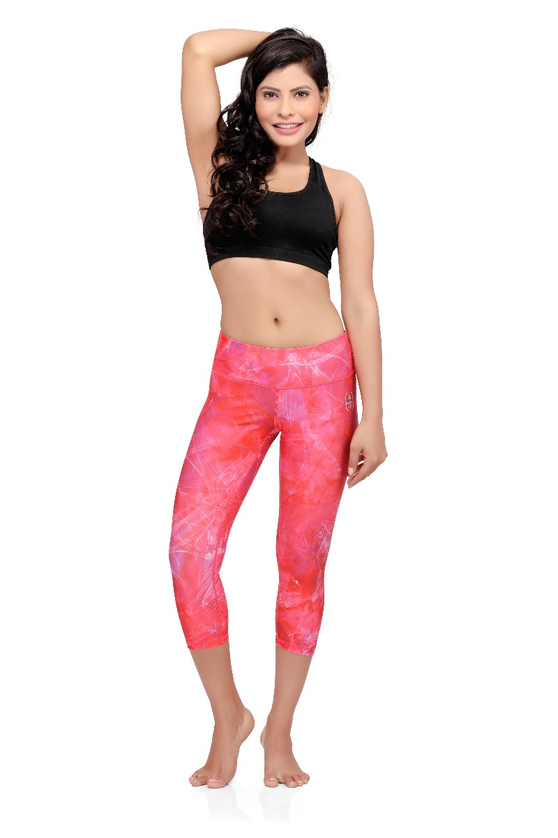 Swee Athletica Activewear Bottoms for Women - Pink