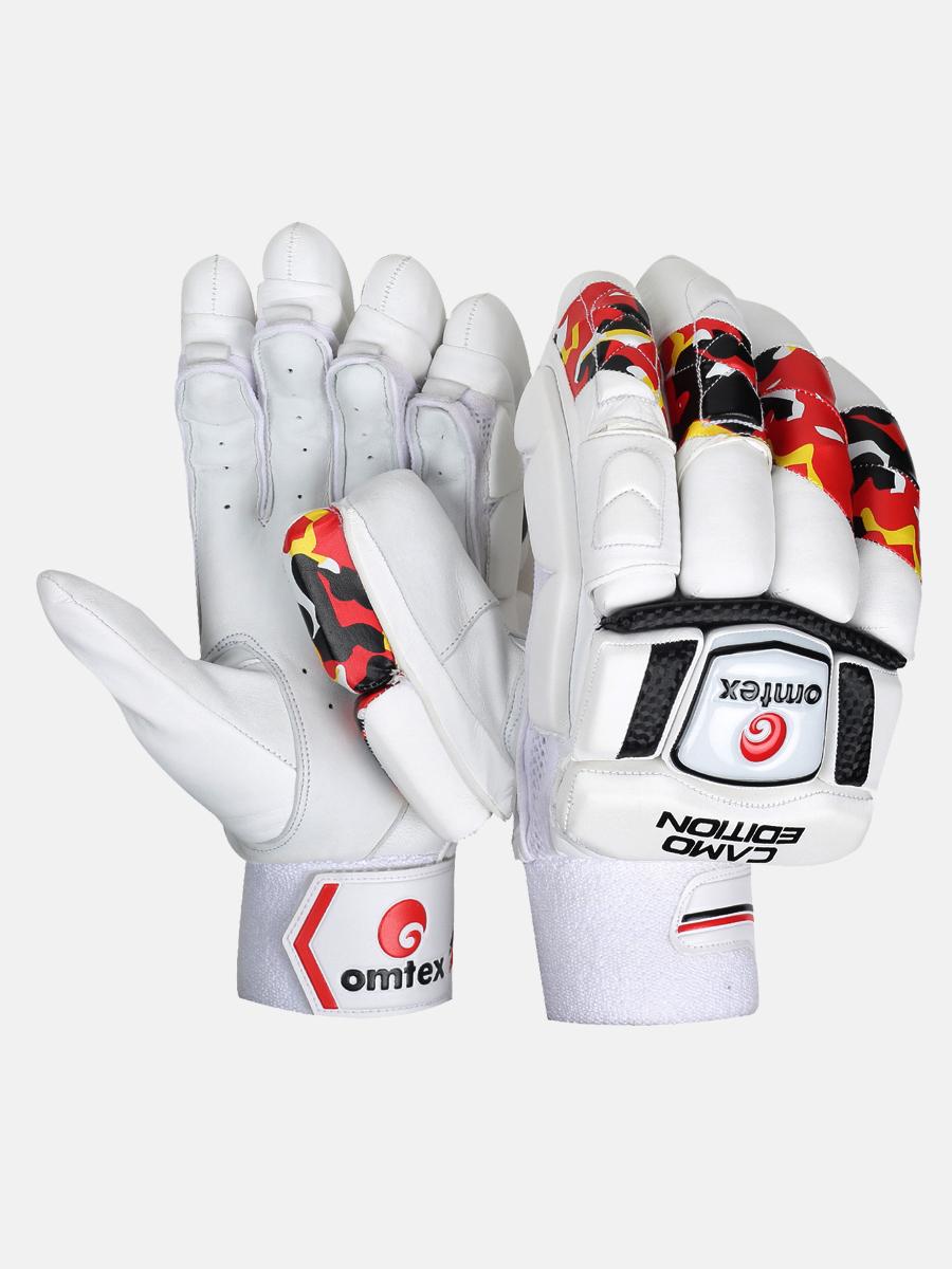 Cricket Batting Gloves Camo Edition