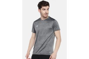 Omtex Sports Mens T-Shirt - Grey
