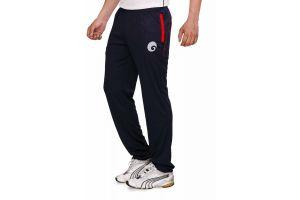 omtex Royal Track Pants - 06 For Men - Black/Red