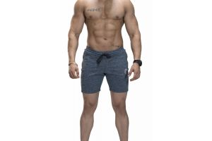 Omtex Shorts for Men - Gray
