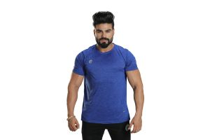 Omtex Sports Mens T-Shirt - Blue
