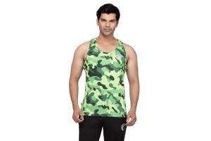 omtex Camo Green - Sublimated Gym Tank