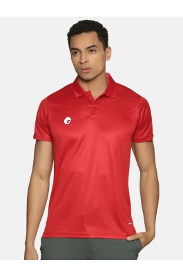 Polo T Shirt Red 1901