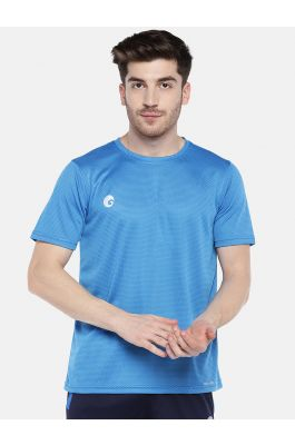 Omtex Sports Mens T-Shirt - Light blue 1801