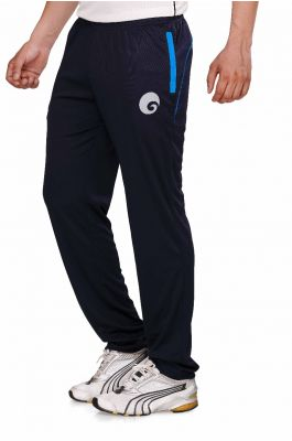omtex Royal Track Pants - 06 For Men - Navy Blue/Blue