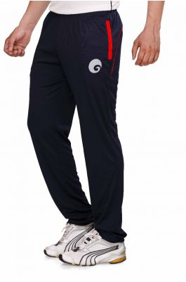 omtex Royal Track Pants - 06 For Men - Black/Red