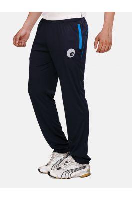 omtex Royal Track Pants - 06 For Men - Navy Blue/Blue