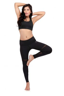 Swee Athletica Activewear Bottoms for Women - Black
