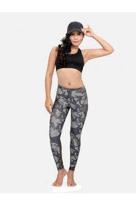 Swee Athletica Activewear Bottoms for Women - Olive Green