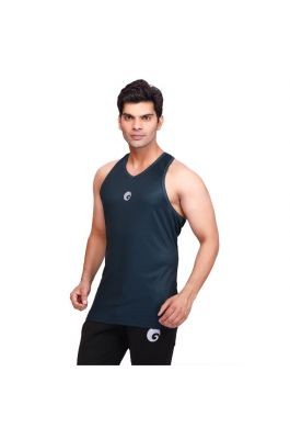 omtex Strength Tank For Men - Green