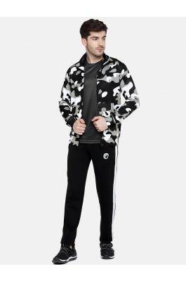 Camo Jacket white & black