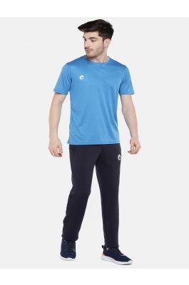 omtex Lycra Bottom Regular Fit For Men -  Navy Blue