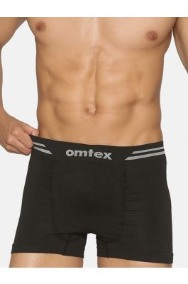 Omtex Seamless Shorts Black