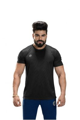 Omtex Sports  Mens T-Shirt - Black