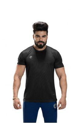 Omtex Sports  Mens T-Shirt - Black