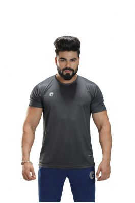 Omtex Sports Mens T-Shirt - Grey