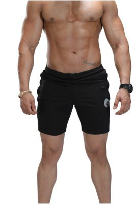 Omtex Shorts for Men - Black