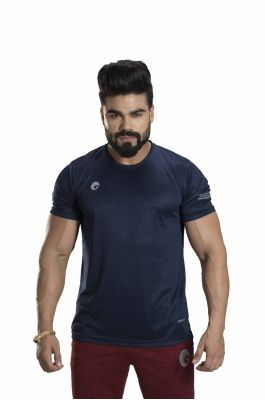 Omtex Sports  Mens T-Shirt - Navy Blue
