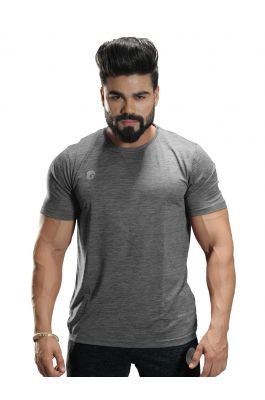 Omtex Sports  Mens T-Shirt - Light gray