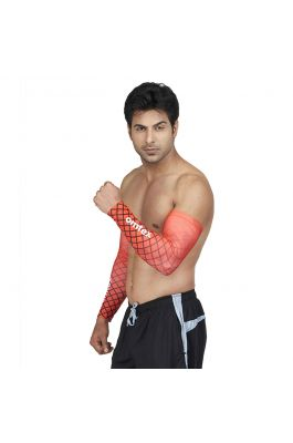 Compression Arm Sleeves - Sparkling Red
