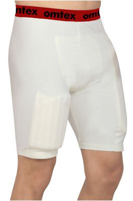 omtex Cricket Batting shorts with inner pads (Left handed Batsman)