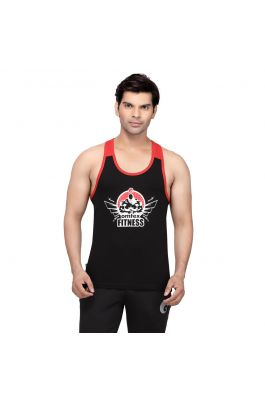 Gym Stringers - Black Red