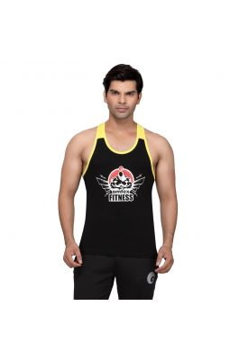 Gym Stringers - Black Yellow