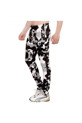 Omtex Camo Track Pants - Grey