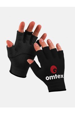 Omtex Cricket Catching Black Gloves 2.0