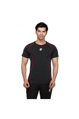 Compression Top Half Sleeves - Black