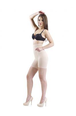 Fern - High Waist and Short Thigh Shaper - Nude
