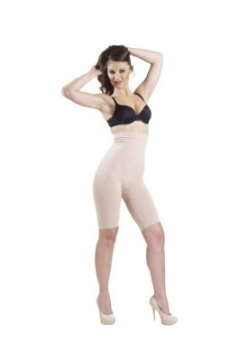 Glory - High Waist and Full Thigh Shaper - Nude