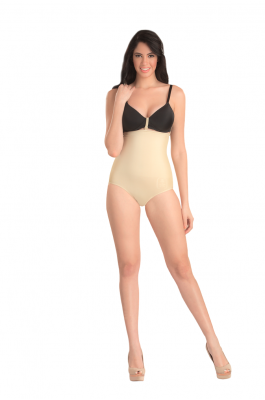 Glow - High Waist Shaper Brief - Nude