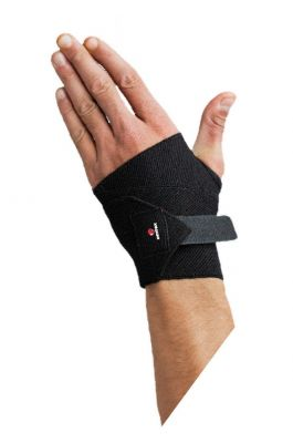 Hand Support - Black - Free Size - Velcro Strap