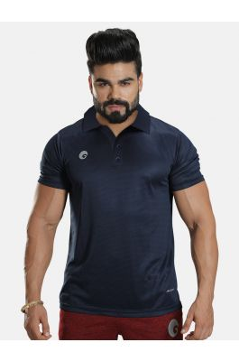 Polo T Shirt Navy Blue 1901