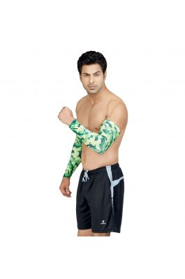 Compression Arm Sleeves - Camo Green