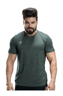 Omtex Sports Mens T-Shirt - Green 1802
