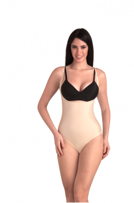 Opal - Full Body Shaper Brief - Nude