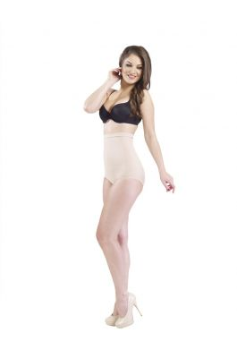 Orchid - High Waist Shaper Brief - Nude