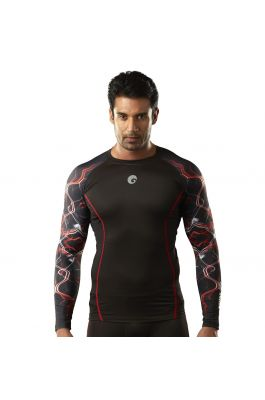 Compression Top - Red Shock