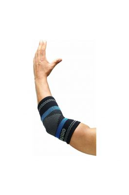 Superior Elastic Elbow Support - Black (Single Piece)