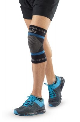 Superior Elastic Knee Support - Black (Single Piece)