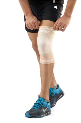Superior Elastic Knee Support - Skin (Single Piece)