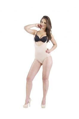 Tansy - Full Body Shaper - Nude