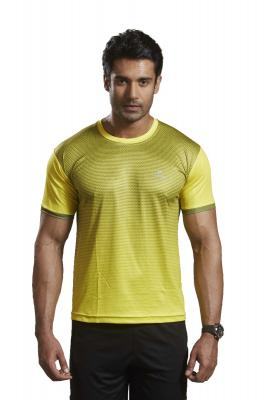 omtex Active Wear T-shirts - 1602 Yellow