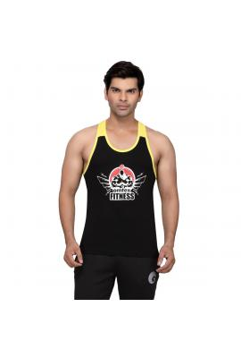 Gym Stringers - Black Yellow